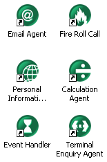 timeware agents/services icons